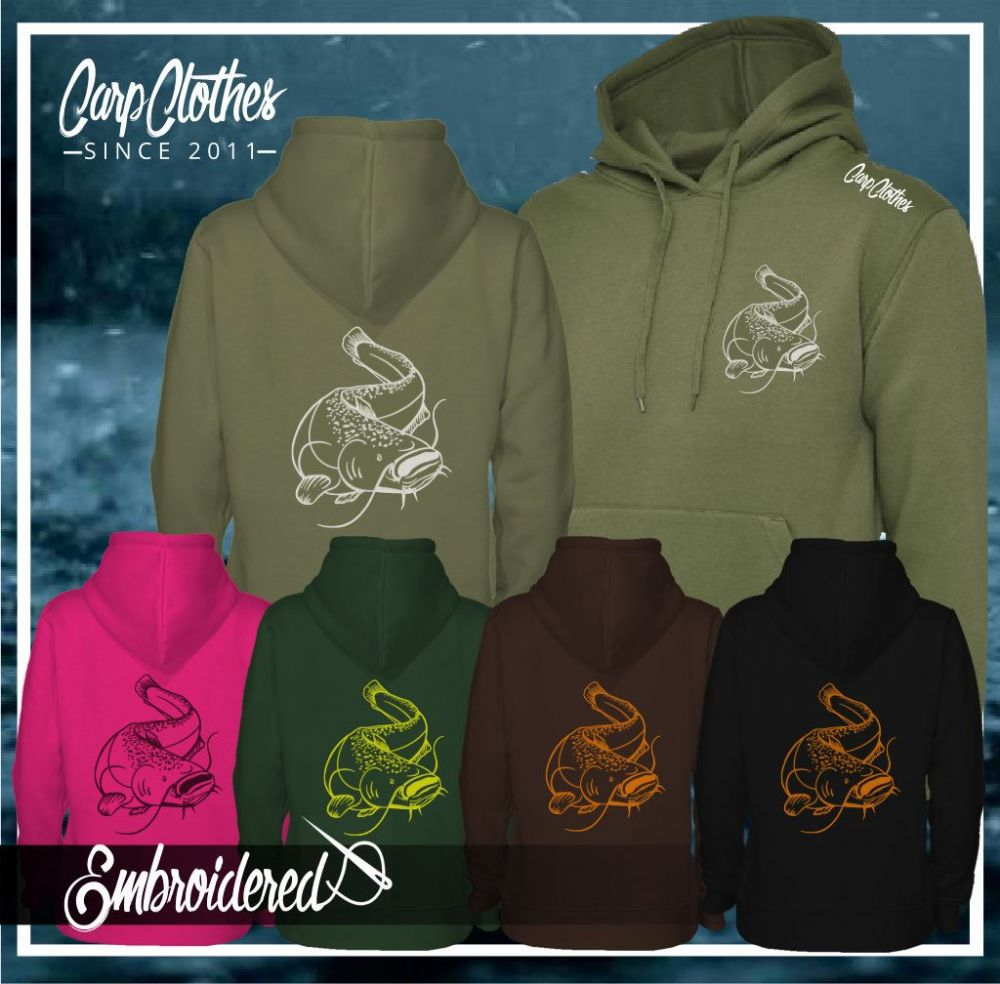 005 EMBROIDERED CAT HOODIE